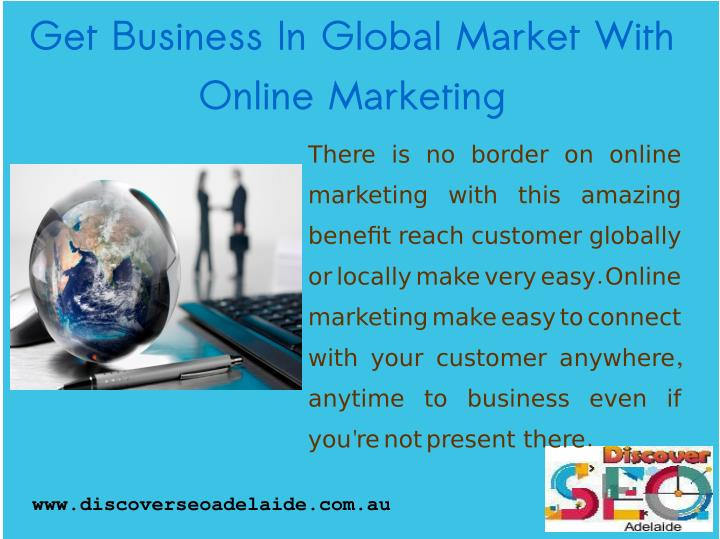 Get Business In Global Market With