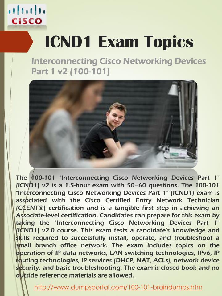 ICND1 Exam Topics