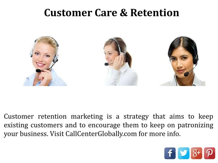 Customer Care & Retention