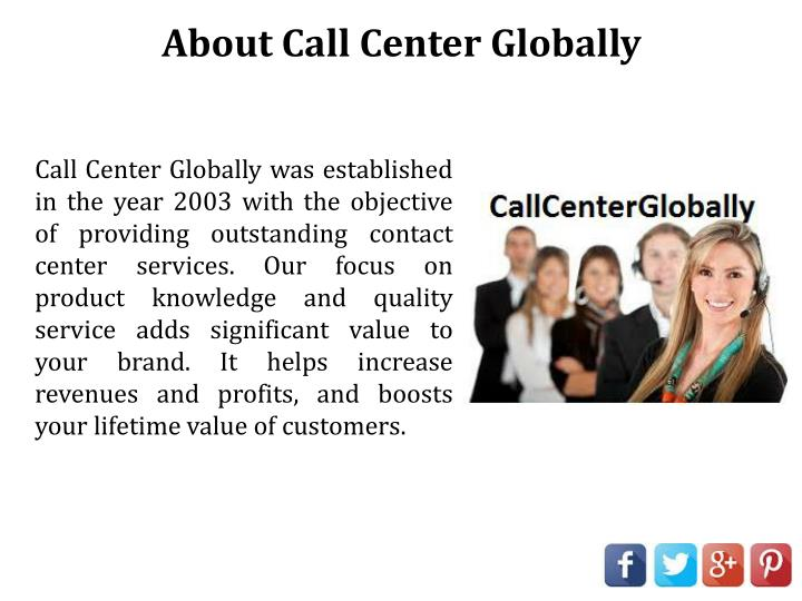 About Call Center Globally