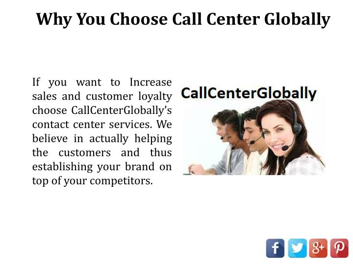 Why You Choose Call Center Globally