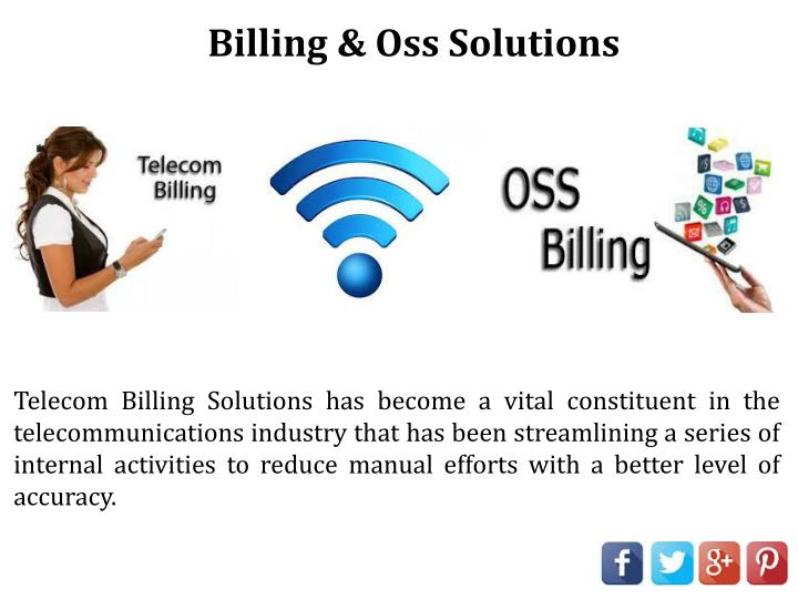 Billing & Oss Solutions
