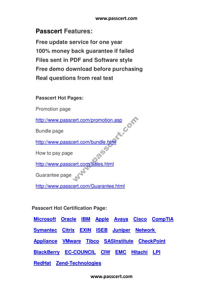 www.passcert.com