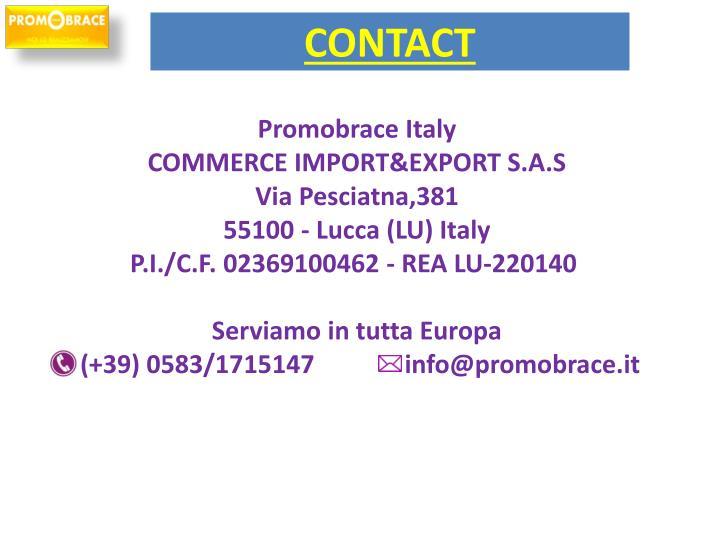 Promobrace Italy