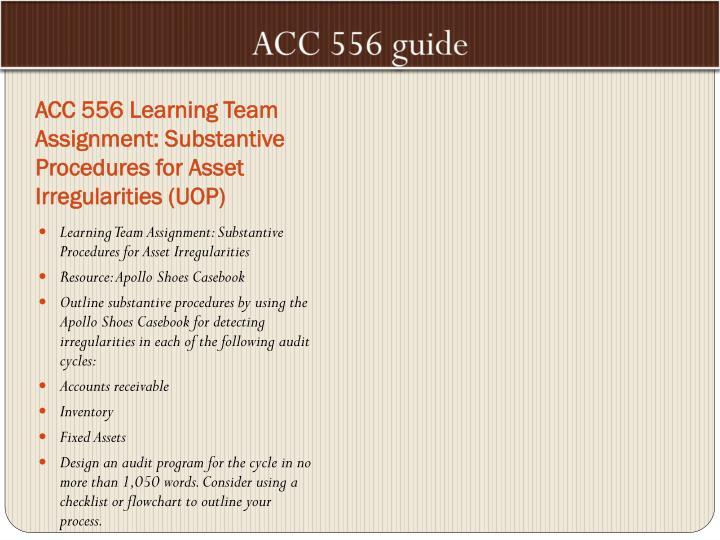 Apollo shoes audit program design part ii Essay Sample