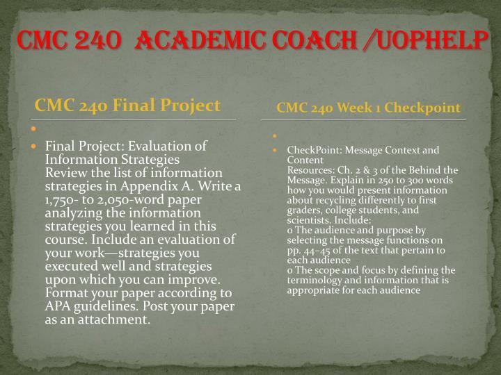 cmc 240 final project