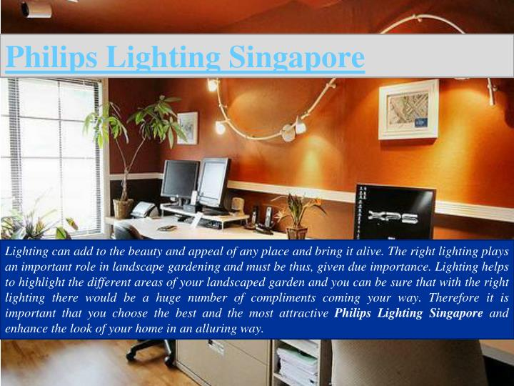 Philips Lighting Singapore