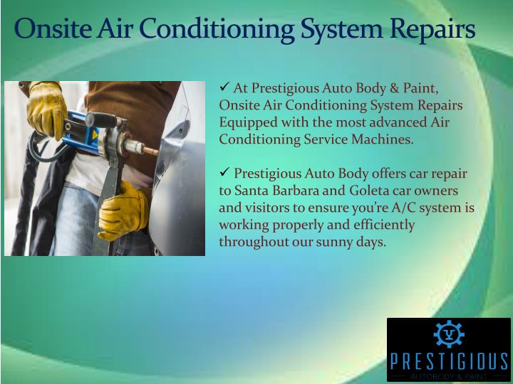 Onsite Air Conditioning System Repairs