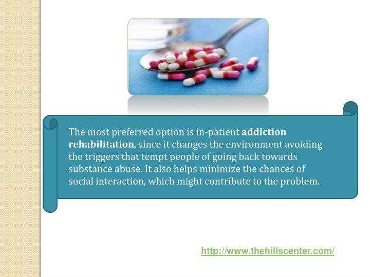 The most preferred option is in-patient