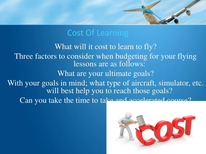 Cost Of Learning