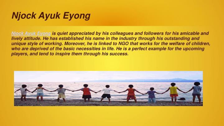 Njock Ayuk Eyong