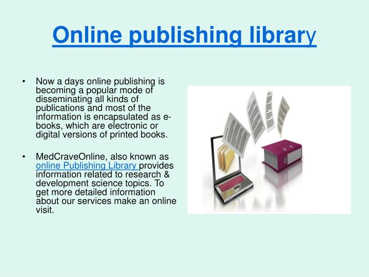 Online publishing librar
