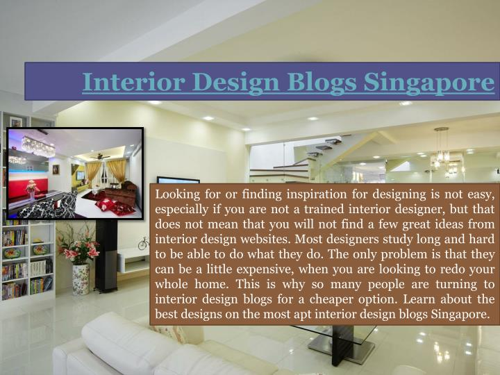 Interior Design Blogs Singapore