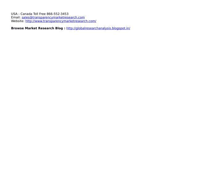 USA - Canada Toll Free 866-552-3453