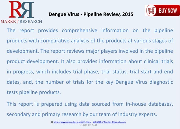 Dengue Virus - Pipeline