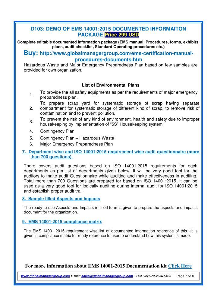Aspect and impact register iso 14001 kindlkingdom for Environmental aspects register template