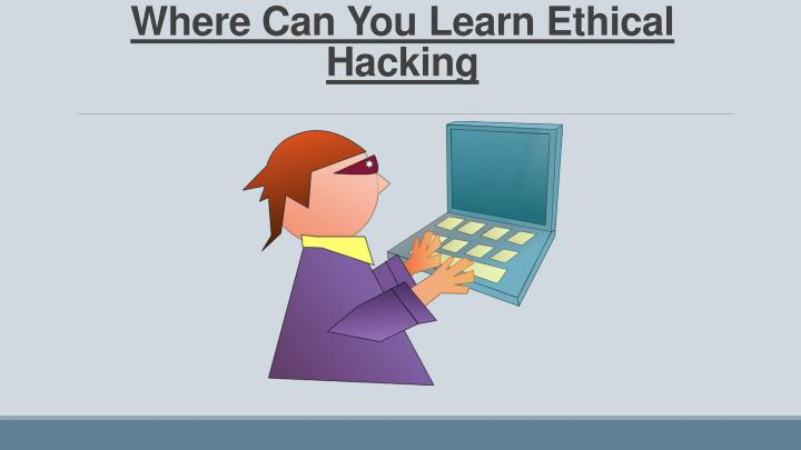 Where Can You Learn Ethical