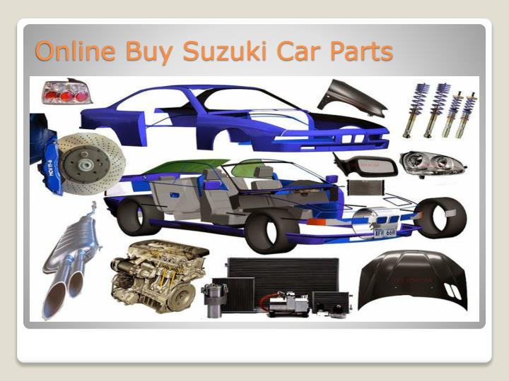 Online Buy Suzuki Car Parts