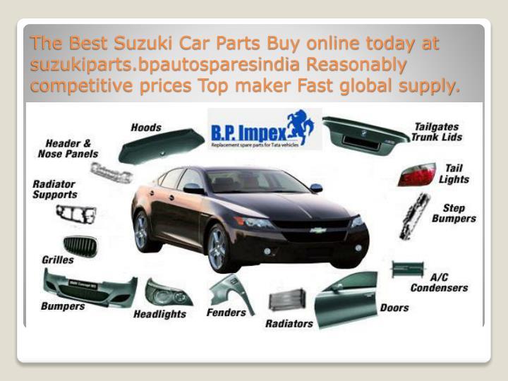 The Best Suzuki Car Parts Buy online today at