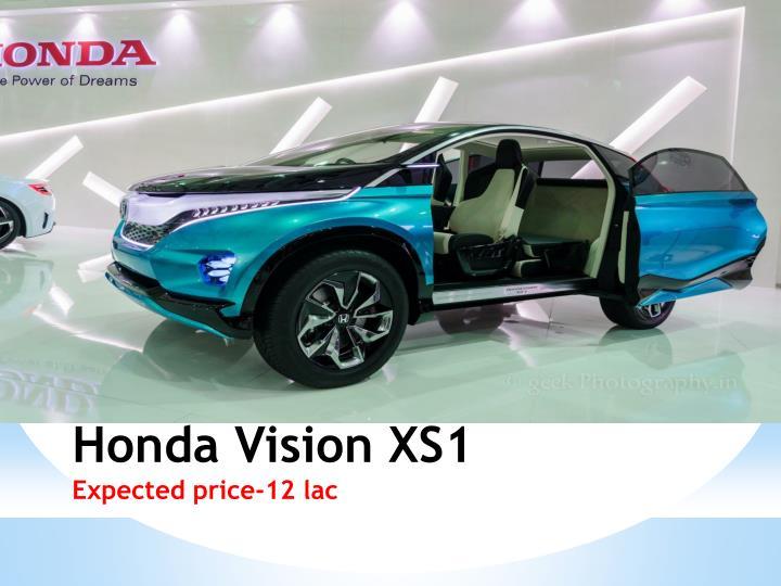 Honda Vision XS1