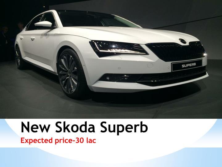 New Skoda Superb