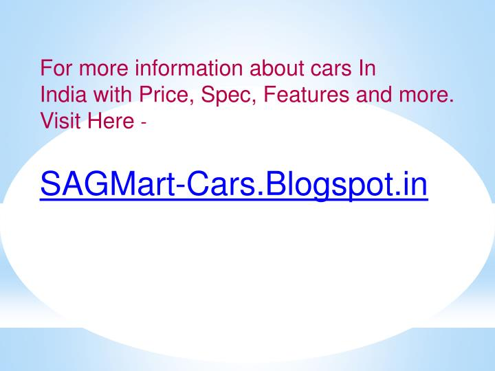 For more information about cars In