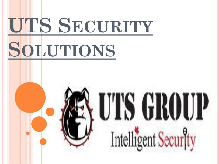 Uts security solutions