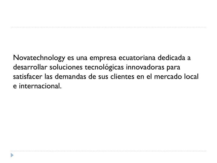 Novatechnology