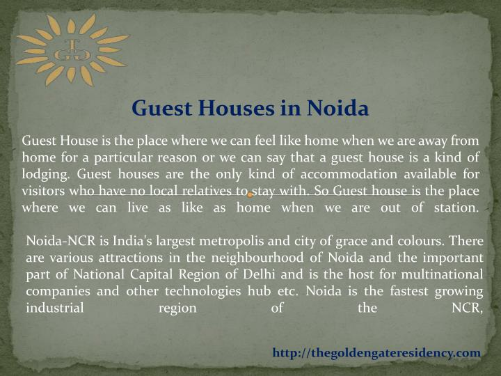 Guest Houses in Noida