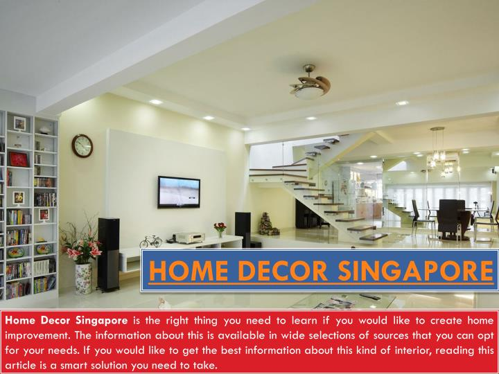 Home decor singapore