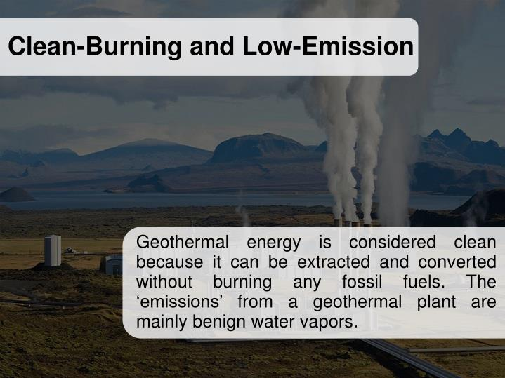 Clean-Burning and Low-Emission