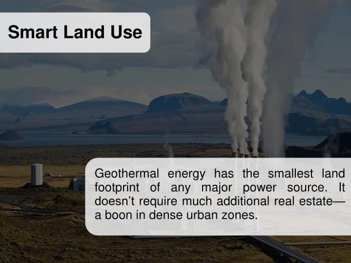Smart Land Use