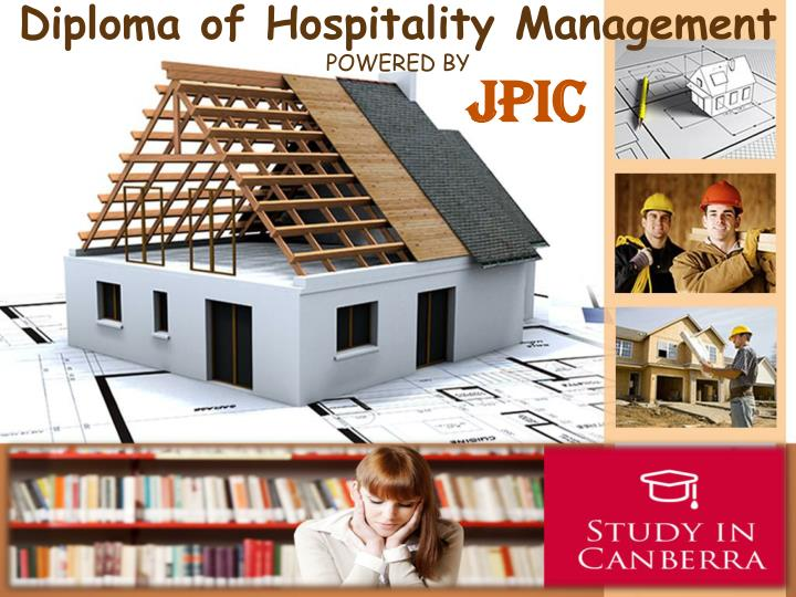 D iploma of hospitality management powered by