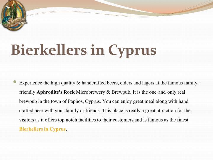 Bierkellers in Cyprus