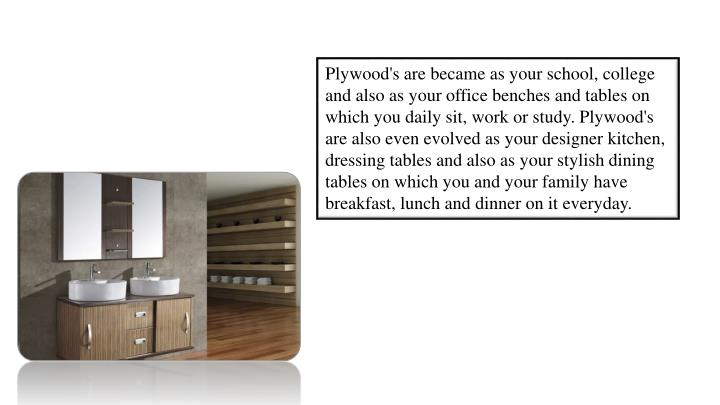 Plywood's