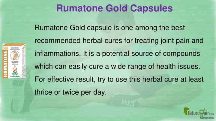 Rumatone Gold