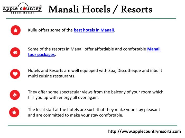 Manali Hotels / Resorts