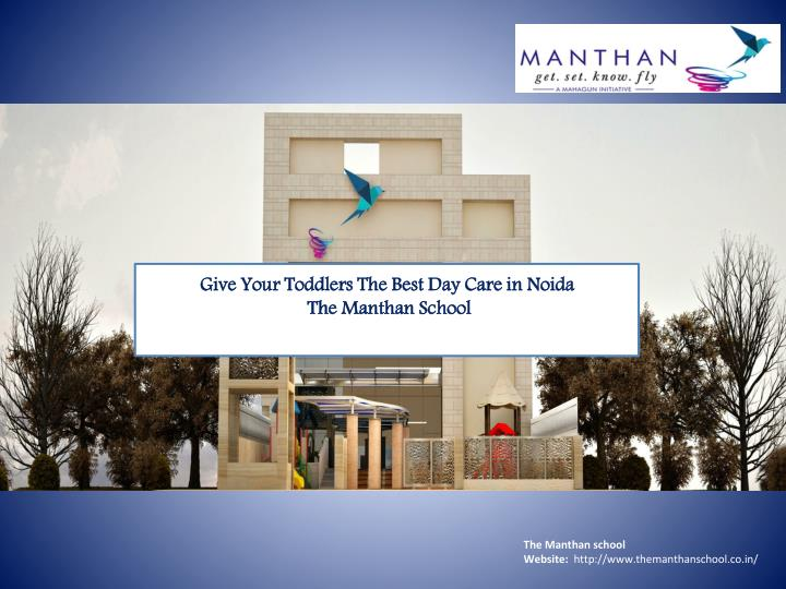 The manthan school website http www themanthanschool co in