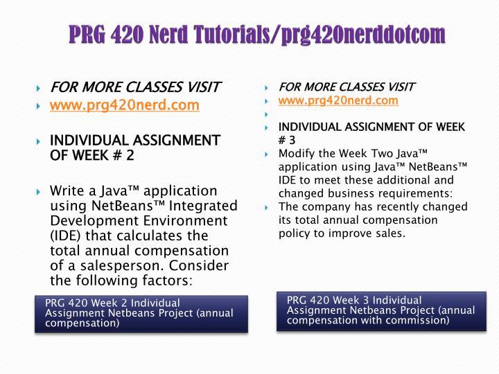 PRG 420 Nerd Tutorials/prg420nerddotcom