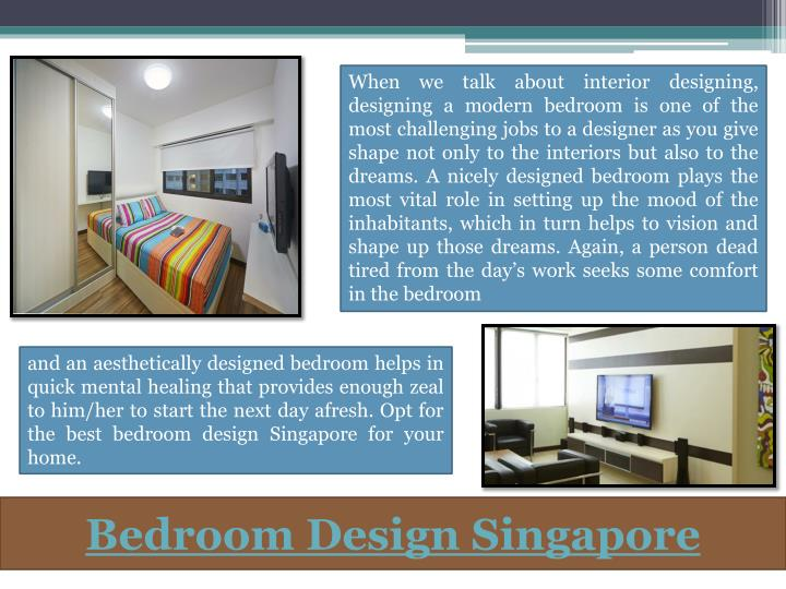 When we talk about interior designing, designing a modern bedroom is one of the most challenging jobs to a designer as you give shape not only to the interiors but also to the dreams. A nicely designed bedroom plays the most vital role in setting up the mood of the inhabitants, which in turn helps to vision and shape up those dreams. Again, a person dead tired from the day's work seeks some comfort in the bedroom
