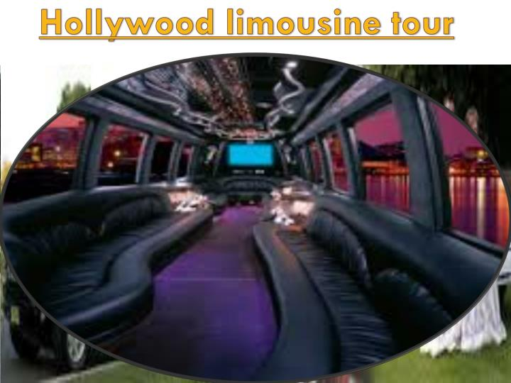 Hollywood limousine tour