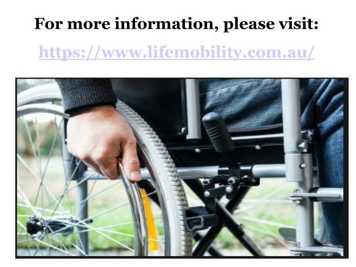 For more information, please visit: