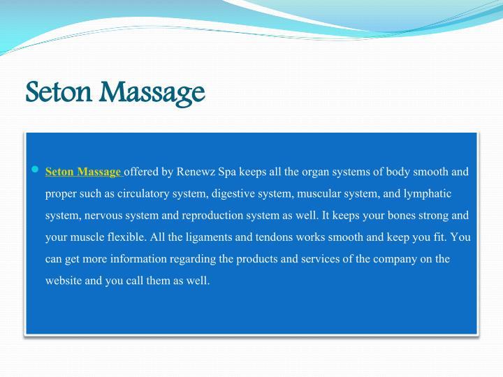 Seton Massage