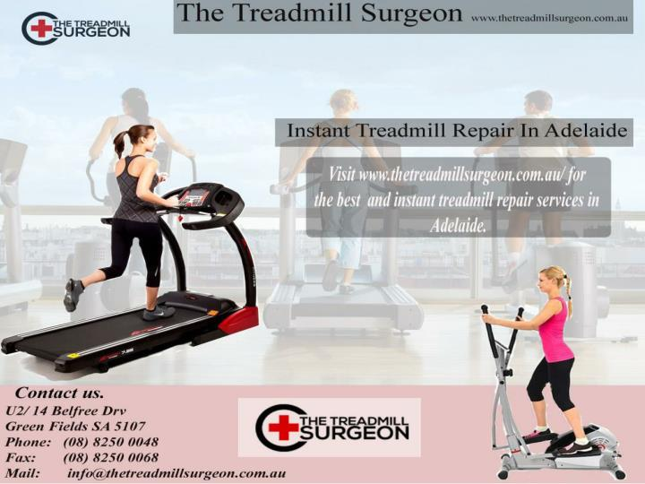Treadmill service and motor repair adelaide www thetreadmillsurgeon com au
