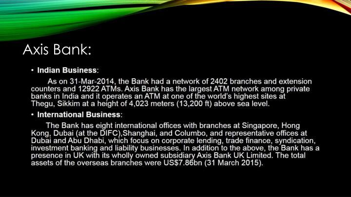 Axis Bank: