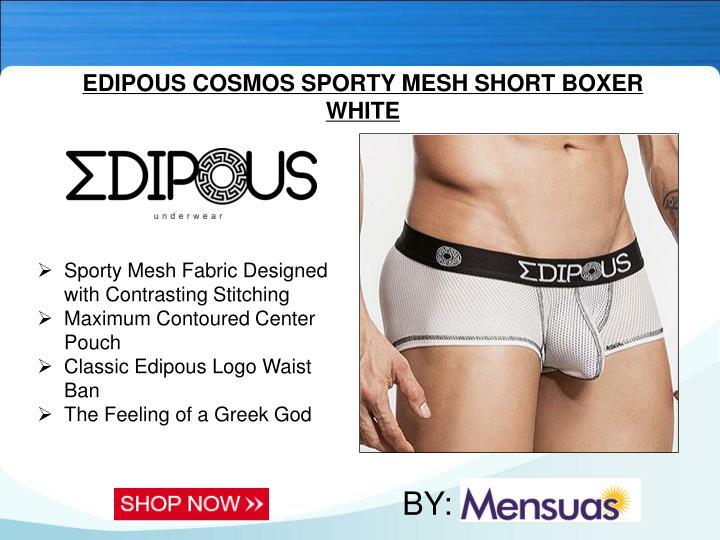 EDIPOUS COSMOS SPORTY MESH SHORT BOXER