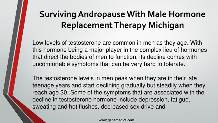 Surviving andropause with male hormone replacement therapy michigan1