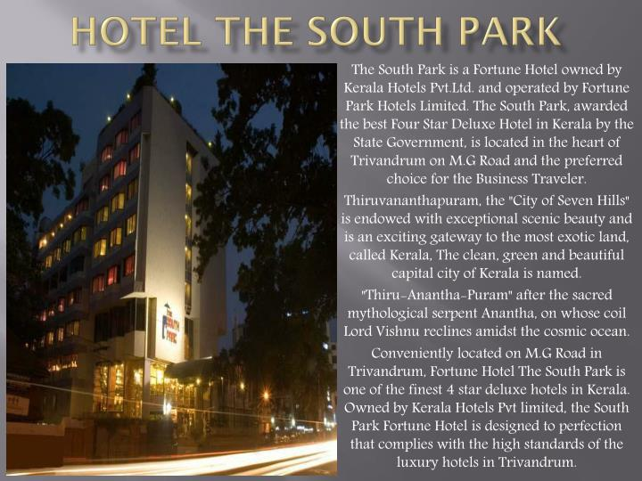 Hotel The South Park
