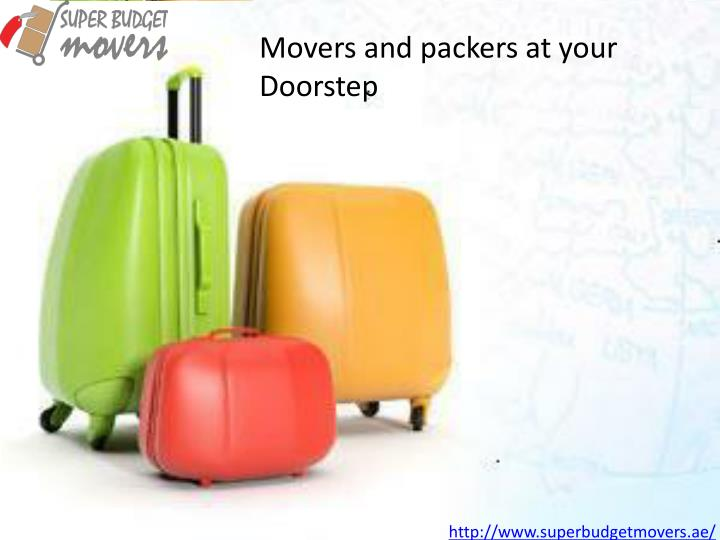 Movers and packers at your Doorstep