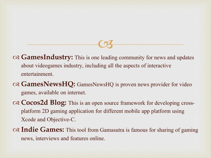 GamesIndustry